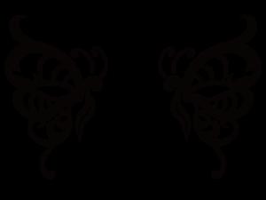 羽ばたくイメージ・バタフライ