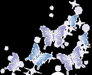 オリキュロセラピストとして飛び立つイメージ蝶
