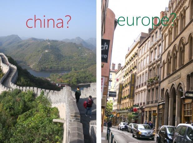 中国とヨーロッパのつぼ歴史比較